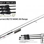 YAMAGA BLANKS BlueCurrent 85/TZ NANO All-Range/ヤマガブランクス ブルーカレント 85/TZ ナノ オールレンジ