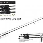 YAMAGA BLANKS BlueCurrent 91/TZ LongCast/ヤマガブランクス ブルーカレント 91/TZ ロングキャスト