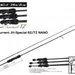YAMAGA BLANKS BlueCurrent JH-Special 62/TZ NANO/ヤマガブランクス ブルーカレント62/TZ ナノ