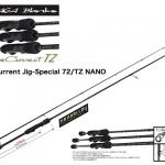 YAMAGA BLANKS BlueCurrent Jig-Special 72/TZ NANO/ヤマガブランクス ブルーカレント ジグスペシャル72/TZ ナノ