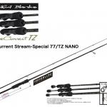 YAMAGA BLANKS BlueCurrent Stream-Special 77/TZ NANO/ヤマガブランクス ブルーカレント ストリームスペシャル77/TZ ナノ