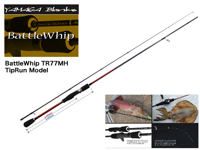 BattleWhip TR77MH TipRun Model
