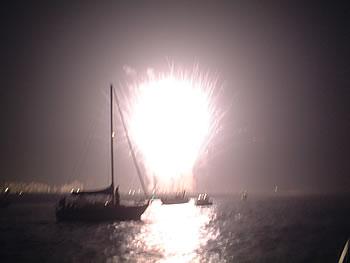 浦安の花火